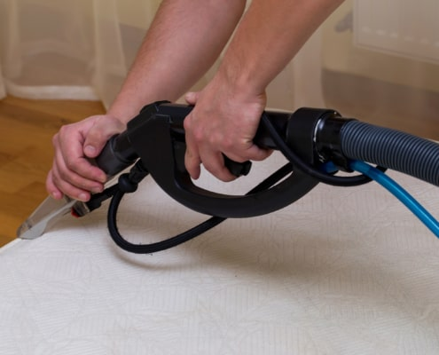 comprehensive mattress cleaning solution for our clients' homes